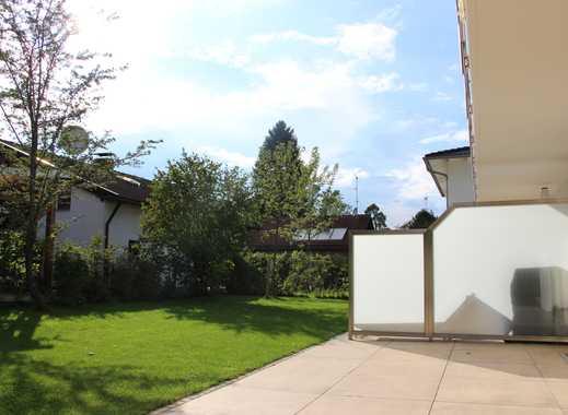 Wunderschöne 4 Zi. EG Whg mit Süd-Garten 115m² 2 Bäder Garage 2 Stellpl. Vaterstetten ab 01.12.2019