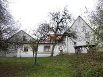 Bauernhaus mit Werkstatt Garagengebäude und