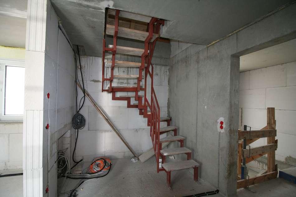 Treppe im 1.Obergeschoss
