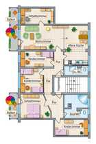 6-Raum-Wohnung in ruhiger Lage als