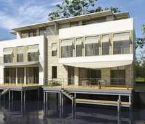 Bild Mehr geht nicht! Steg-Doppelhaushälfte mit Bootsanlegestelle, Terrasse, Studio und Dachterrasse