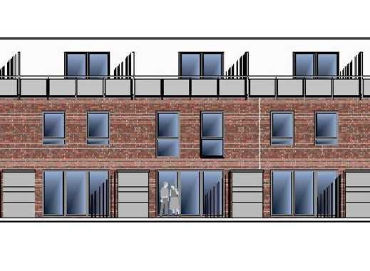 Moderne Reihenhäuser mit Studio und Dachterrasse in beliebter Wohnlage