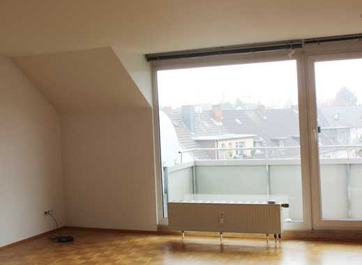 Hell & ruhig: 3-Zimmer-DG-Wohnung / Maisonette * mit Süd-Balkon * ab 1. Juni