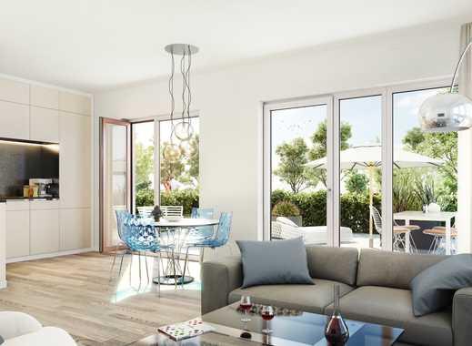 PANDION PENTA 2.BA - Barrierefreie 3-Zimmer-Gartenwohnung mit 2 Bädern und herrlicher Terrasse