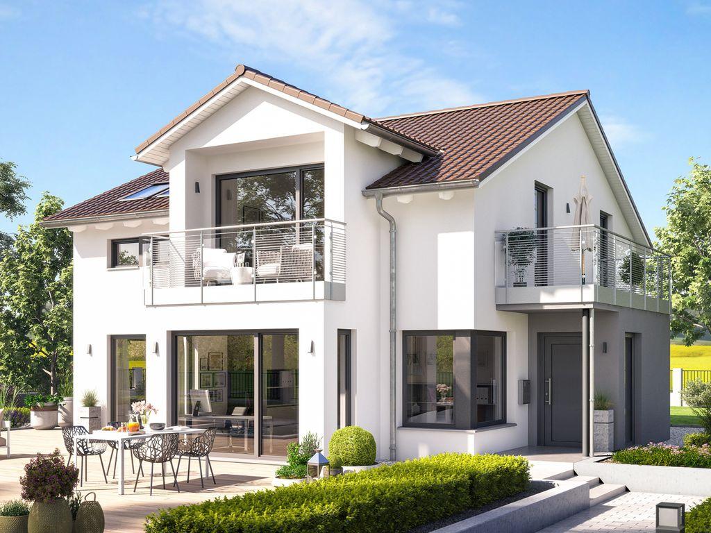 FANTASTIC 165 V4 – Aktions-Traumhaus mit Eingangserker und Balkon ...