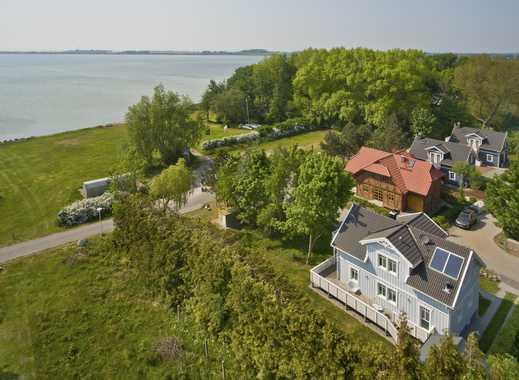 Voll möbliertes  Ferienhaus oder Zweitwohnsitz direkt am Wieker Boddenmeer