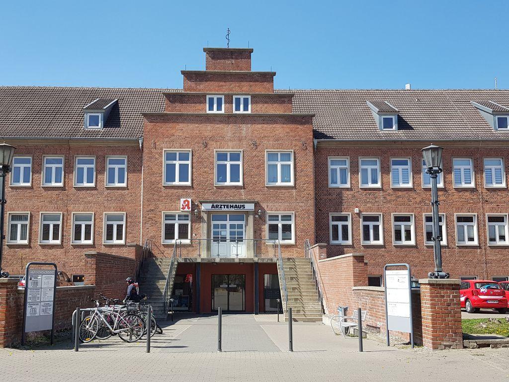 Ärztehaus Eingangsbereich