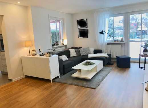 Stilvolle, sanierte 3-Zimmer-EG-Wohnung mit Terrasse + EBK in Großgründlach