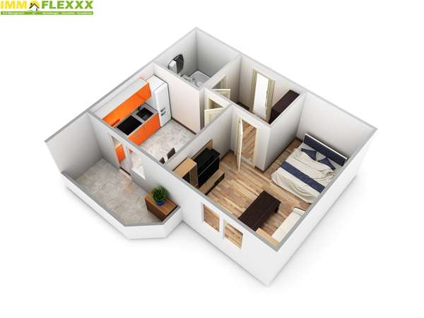 Gepflegtes Appartement in sonniger Lage