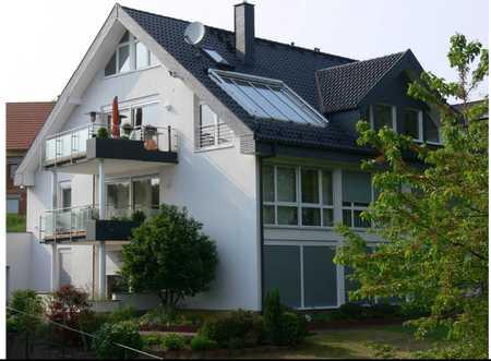ARNOLD-IMMOBILIEN: Behindertengerecht - großzügige Wohnung mit Blick ins Grüne in Schöllkrippen
