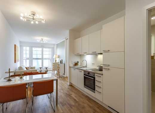 Helle 2-Zimmer-Neubauwohnung mit Einbauküche und Balkon direkt am Stadtkern Dresdens