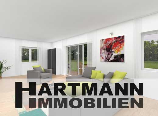 Einzigartige Neubau-Duplex-Wohnung mit Garten im Herzen von Schwanheim!
