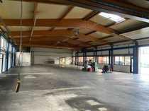 Vermietung einer Produktionshalle Büros