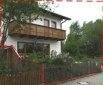 Eine Doppelhaushälfte am Ortsrand - ruhig