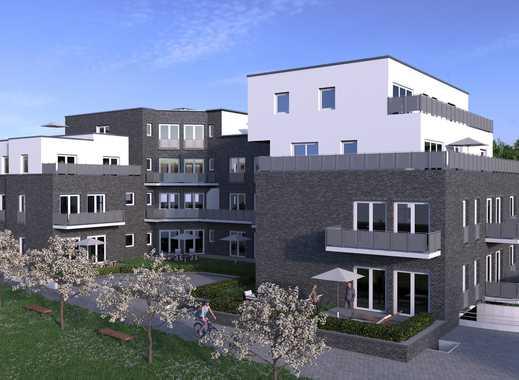 barrierefreie 2-Zimmer-Neubau-Wohnung mit Terrasse und Tiefgaragenstellplatz in zentraler Lage