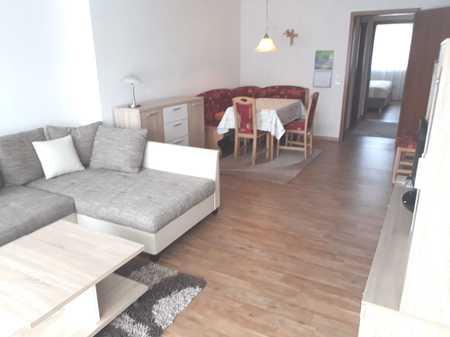 Möblierte 2 - Zimmerwohnung mit Einbauküche und Balkon in Bad Kissingen