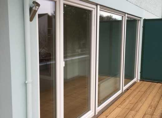 komplett modernisierte Wohnung mit 3 Terrassen- Süd und West - neue  Einbauküche
