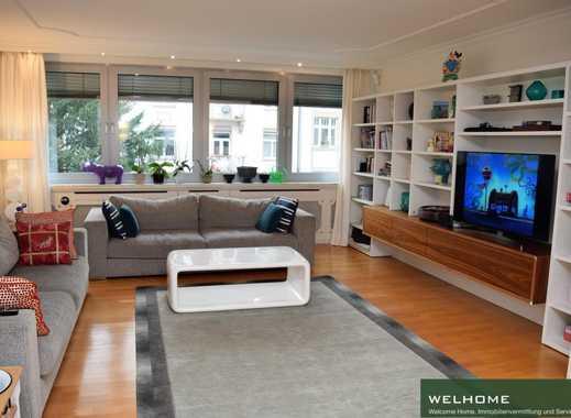 HOLZHAUSENVIERTEL: Großzügige 4-Zi-Wohnung mit 2 Balkonen