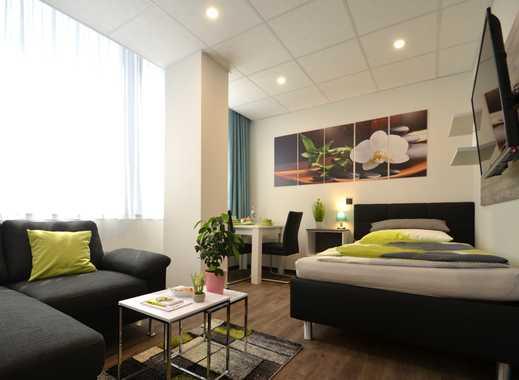 Erstbezug! Möbliertes 1-Zimmer-Apartment in der Innenstadt Offenbachs unweit des Marktplatzes