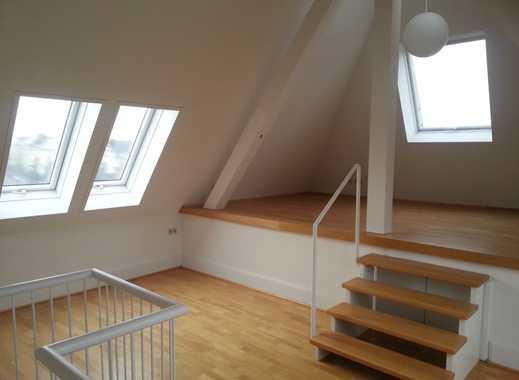 Individuelle Maisonettewohnung über den Dächern von Schwabing