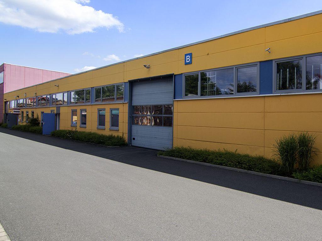 Halle B - Ansicht Westen 1