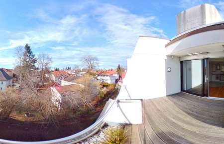 Exklusive 4-5-Zimmer-Dachterrassen-Wohnung in Memmingen in Memmingen-Innenstadt