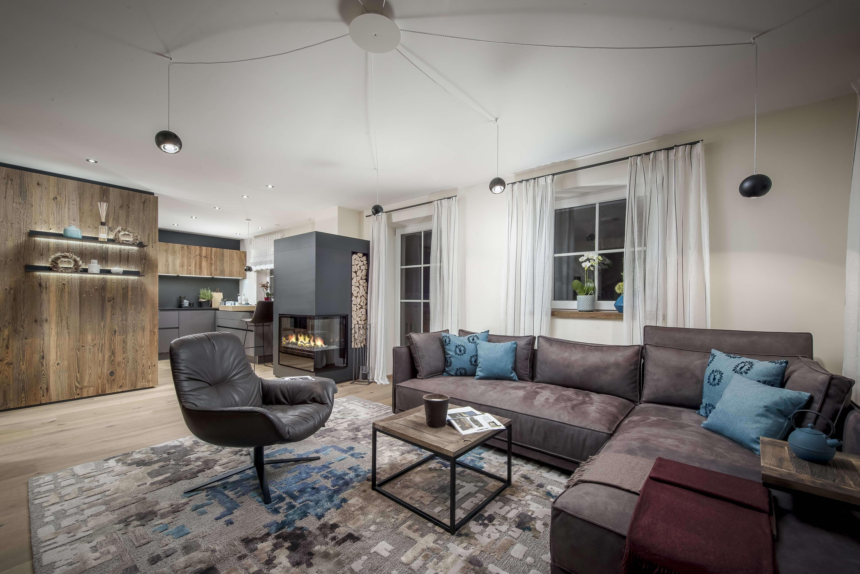 Luxuriöse  Wohnung mit Wallbergblick in