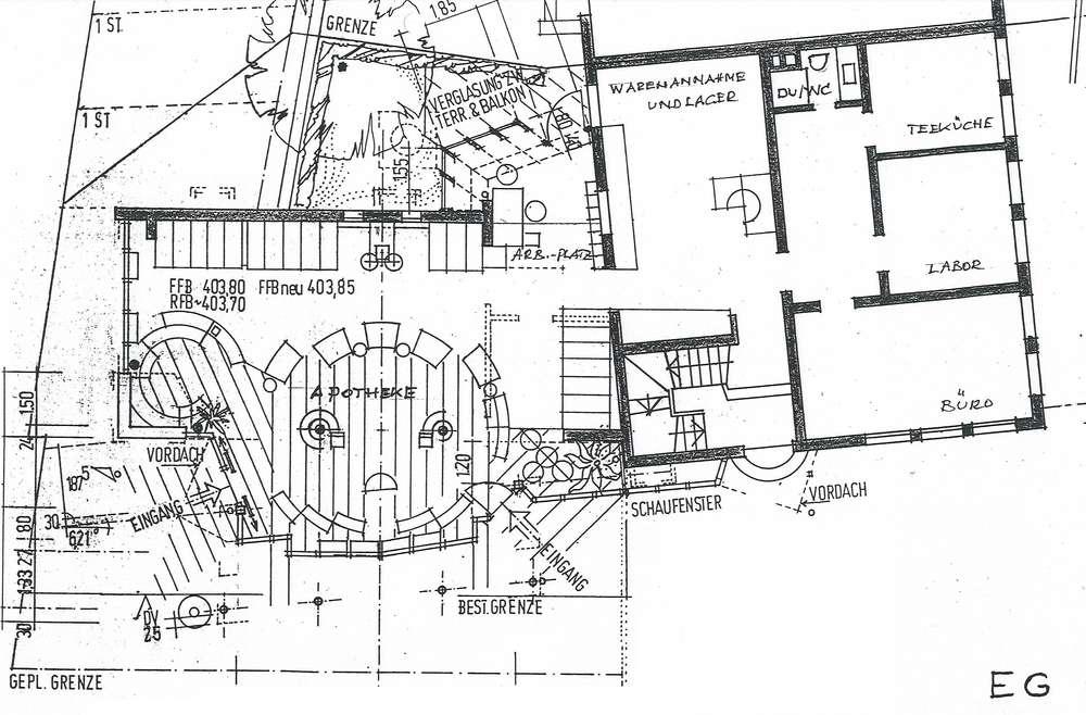 Büro / Praxisfläche mit 2 Parkplätzen
