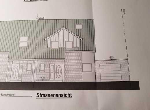 Topgrundstück mit Baugenehmigung für Doppelhaushälfte In MG Hardt  Südlage
