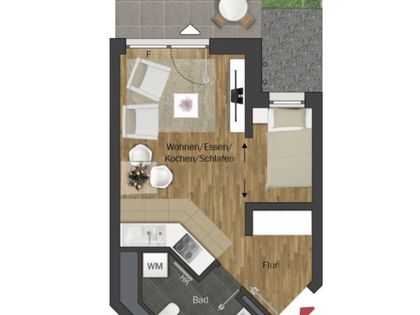 1 15 Zimmer Wohnung Zur Miete In Riedberg