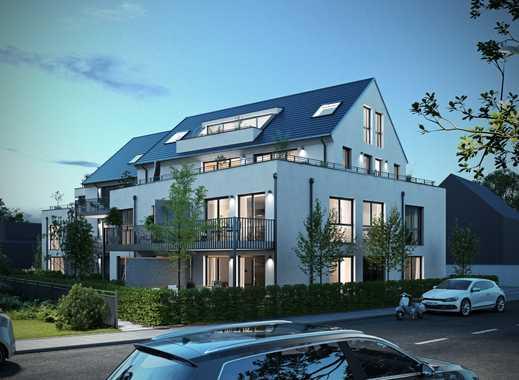 Megabalkon! Super 3-Zimmer Wohnung mit umlaufendem Balkon - Neubauprojekt Regnitz Terrassen in Fürth