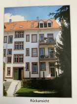 Denkmalgeschützte 3-Zimmer-Hochparterre-Wohnung mit Terrasse und