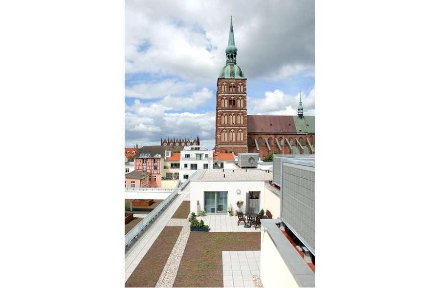Blick auf  Nikolaikirche