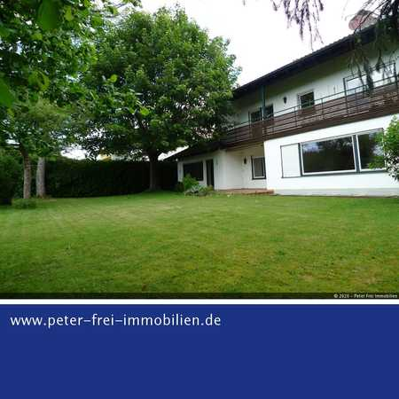 Wohnen und Arbeiten unter einem Dach - 3 Zimmer Wohnung in Bestlage mit Terrasse u. Garten in Sauerlach