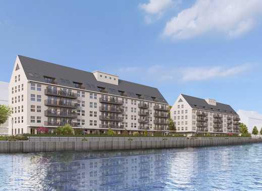 Denkmal-AfA! Barrierefreie 3-Zimmer-Wohnung mit Wasserblick auf ca. 74 m² und sonnigem Balkon