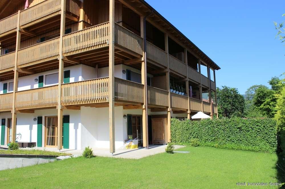 elvirA! Bad Wiessee, sehr schöne 2-Zimmer-Gartenwohnung in Südwestlage in Bad Wiessee