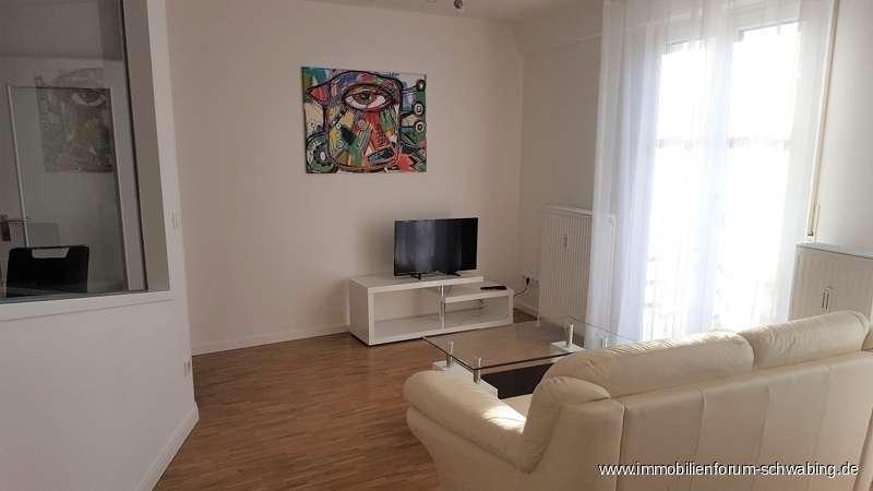 Möblierte 1,5 Zimmer Wohnung in ansprechendem Architektenhaus - an Einzelperson zu vermieten in Berg am Laim (München)