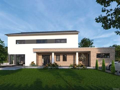 Moderne Architektur Einfamilienhaus | Provisionsfrei Neubauprojekt Moderne Architektur