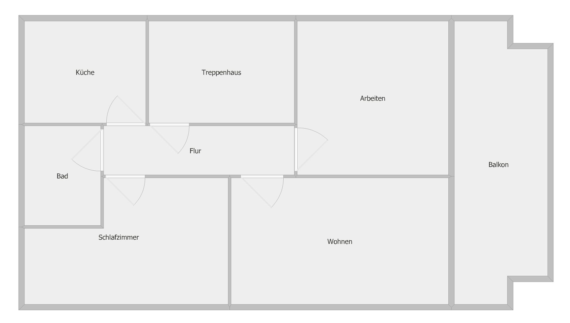 Gepflegte 3-Zimmer-Dachgeschosswohnung mit Balkon und EBK in Würzburg - Versbach in