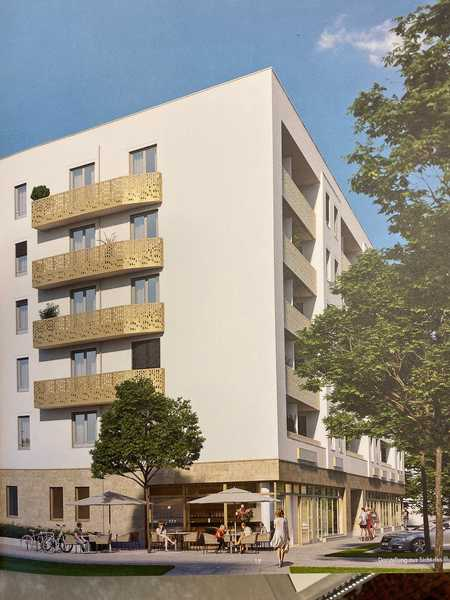 Erstbezug: 3-ZW mit EBK, Loggia-Balkon und Fernblick in Perlach (München)