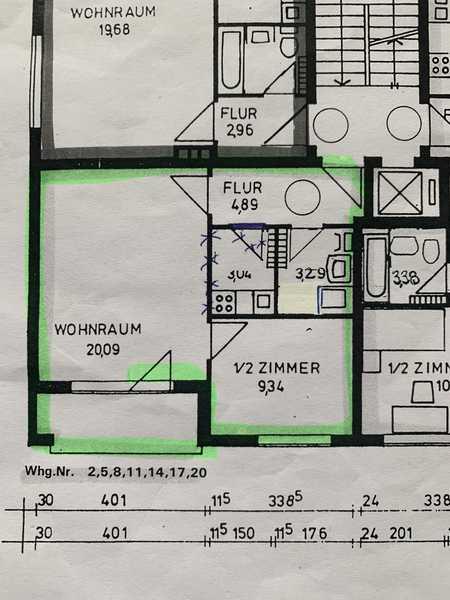 Erstbezug nach Sanierung mit Balkon: exklusive 2-Zimmer-Wohnung in München in Untergiesing (München)