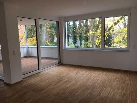 Wohnen an der Lindenallee! Stilvolle, neuwertige 3,5-Zimmer-Wohnung mit Balkon und EBK in Memmingen in Memmingen-Innenstadt