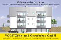 4 1 2-Zimmer-Wohnung im Erdgeschoss-rechts