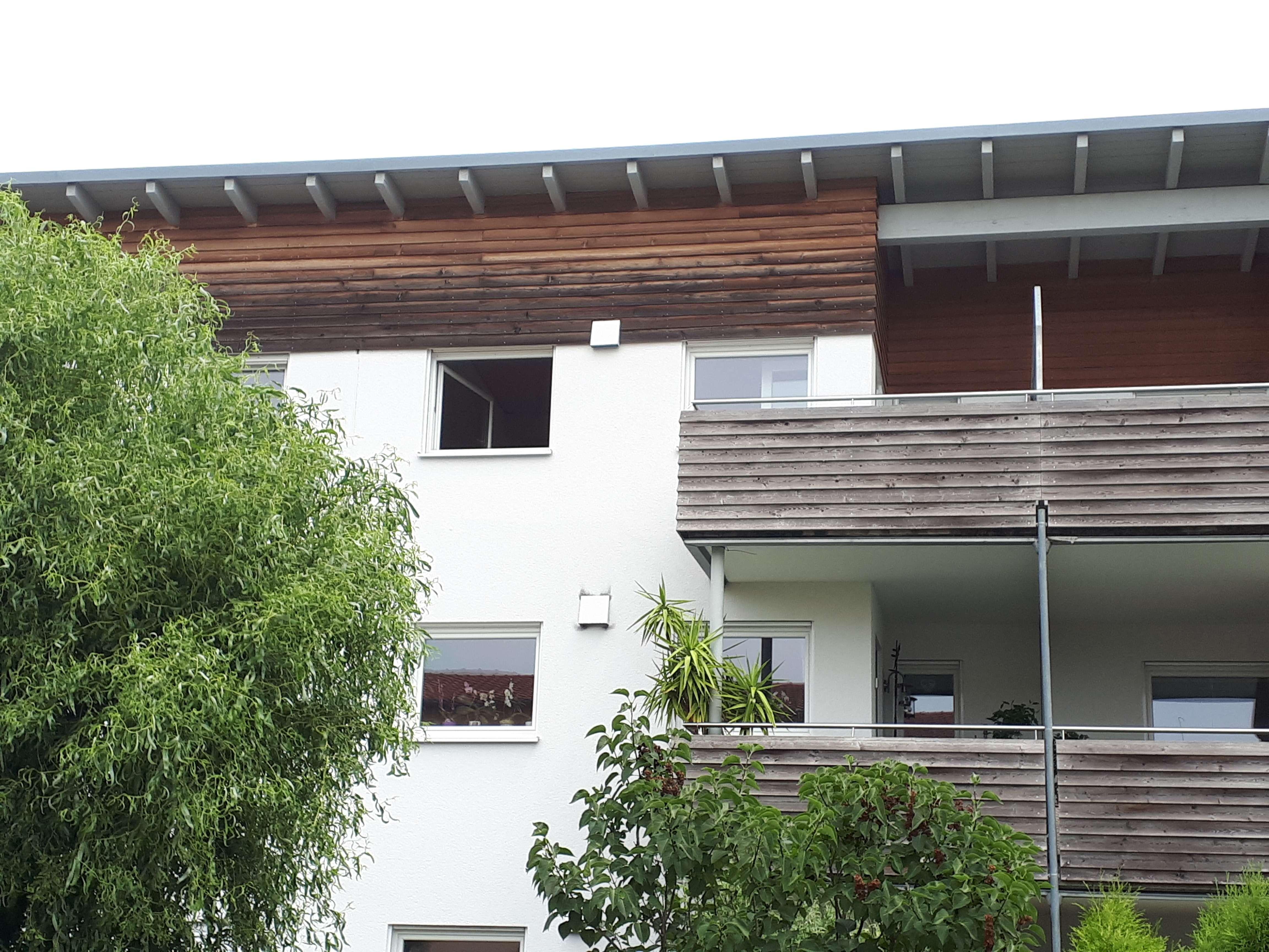 Per Fahrrad zu Audi - Sehr schöne 2,5-Zimmer-DG-Wohnung mit Balkon, EBK, TG in Etting