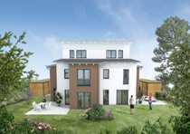 Bild Neu entstehende Doppelhaushälfte