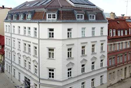 Geräumige 2 Zimmer-Altbauwohnung - Isarnah in Lehel (München)