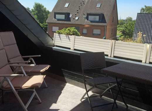 Möbilierte Wohnung in Düsseldorf-Himmelgeist mit Tiefgaragenstellplatz