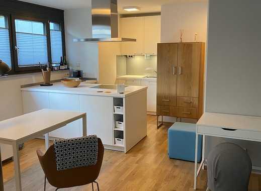 Modern möblierte 2-Zimmer Erdgeschosswohnung mit Terrasse und Garten in Asperg