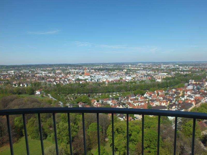 Schöne, geräumige 1-Zimmer-Penthouse-Wohnung in Augsburg, Antonsviertel