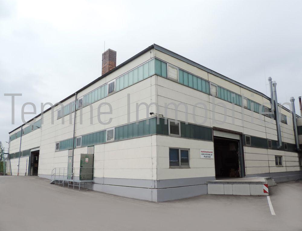Gebäude 1 - Anlieferung
